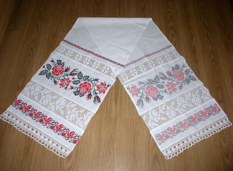 Свадебный рушник своими руками размеры